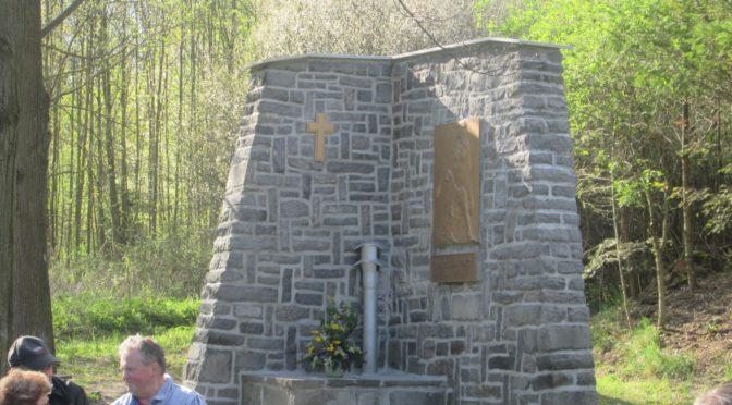 Rekonstruovaný památník, 8. 5. 2016