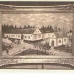 Křižovatka na Nových Dvorech, zdroj: Římskokatolická farnost Bílovec