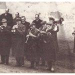 Pohřeb p. Černína J., zdroj: rodina Volná