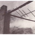 1967: Požár na č. p. 59, zdroj: rodina Volná