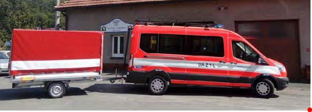 Nové vozidlo pro SDH Lukavec