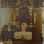 Oltář, Varhany, zdroj: výstava k 700. výročí od 1. dolož. pís. zm. o Lukavci