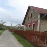 Dům, v jehož sklepě se při osvobozování Lukavjáci schovávali, 8. 5. 2015