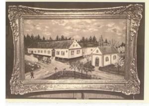 Křižovatka na Nových Dvorech Zdroj: Římskokatolická farnost Bílovec
