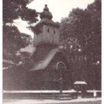 1967: Kostel ve skanzenu v Rožnově p. R., zdroj: rodina Volná