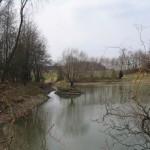 První vodní dílo na Gručovce, 8. 4. 2005