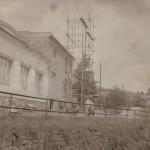 Stavba kulturního domu, zdroj: Vlastimil Heger nejst.