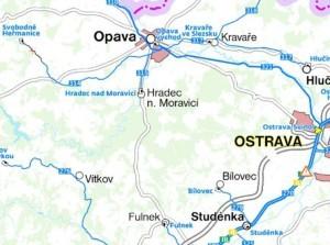 Směr Opava-Fulnek bez železnice