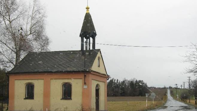 Kaple před renovací, 2008