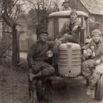 Traktor, zdroj: Zdenka Tellnerová